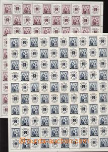 86858 - 1940 Pof.50-51, Červený kříž I., sestava 2ks kompletní