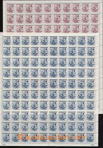 86859 - 1942 Pof.100-101, Červený kříž III., sestava 2ks komple