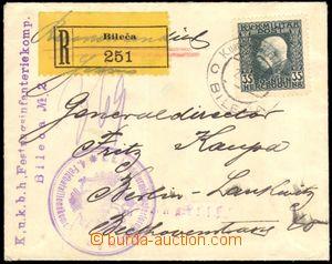 87109 - 1915 R dopis zaslaný do Berlína, vyfr. zn. FP BH Mi.74, DR