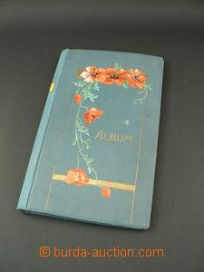 87136 -  ALBUM na pohlednice z r. 1915 s vlčími máky na přední stran