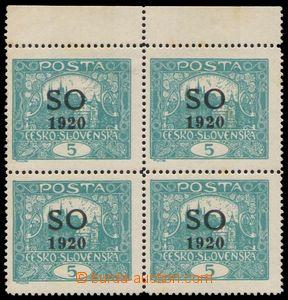 87568 -  Pof.SO3B STp, 5h modrozelená, ŘZ 13¾, krajový 4-blo