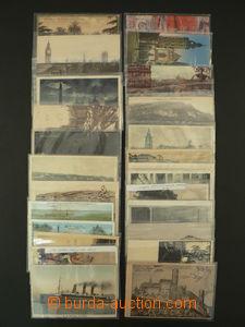 87579 - 1913-28 AUTOGRAFY / ČS. LEGIE  sestava 27ks pohlednic s pod