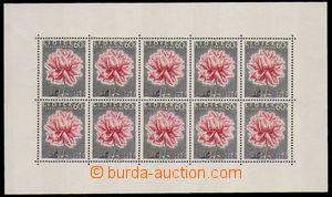 87608 - 1957 Pof.951PL, Lidice, na lepové straně (ZP 6) zeslabené