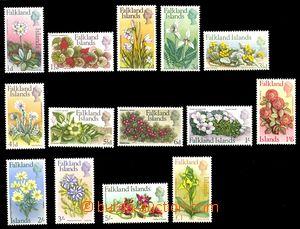 87649 - 1968 Mi.161-174, Květiny, kat. 100€