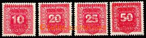 87852 - 1918 ZT Pražského přetisku II. (velký znak), v červené barvě