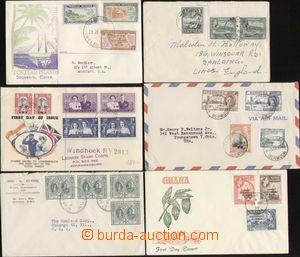 87974 - 1944-58 WW  sestava 6ks dopisů ze zámoří: Antigua, Bermu