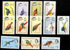 88012 - 1962 Mi.164-75 Ptáci, kompletní série, pěkné, kat. 100�