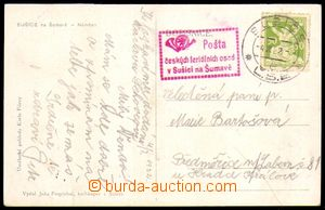 88048 - 1922 FERIÁLNÍ OSADY  červené rámečkové razítko Pošt