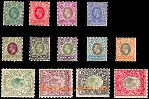 88107 - 1912-19 Mi.44-56 Jiří V., kompletní série, výborná kvalita,