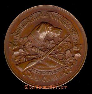 88290 - 1880? MYSLIVOST  Německý lovecký spolek Praha, Cu medaile
