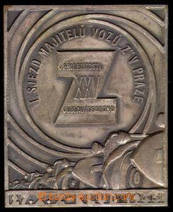 88318 - 1935 AUTOMOBILY / ZBROJOVKA BRNO  plaketa I. sjezd majitelů