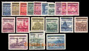 88408 - 1939 Pof.1-19, Přetisková emise, hodnota 5Kč s výrobní
