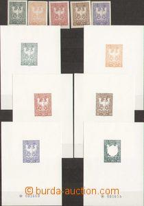 88417 - 1945 OLOMOUC  revoluční vydání Orlice, sestava 6ks čís