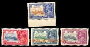 88570 - 1935 Mi.71-74, Král Jiří V., kat.* 46€ (kat. SG 35£