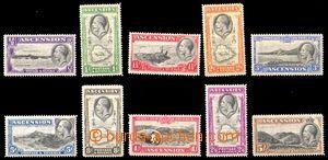 88590 - 1934 Mi.22-31, Král Jiří V., kat 170€ (kat. SG 110£
