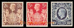 88592 - 1939 Mi.212-214, velký formát, kat. 260€ (kat. SG 320