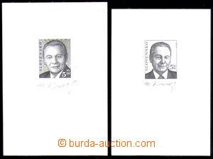88637 - 2000 Zsf.211 (Mi.371) R. Schuster 5,50Sk, dva ZT, otisky ryt