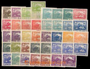 88851 -  Pof.1-26, kompletní série (chybí č.6N, 9N, 13N), různé odst
