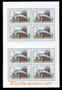 89247 - 1993 Pof.PL6 Beauties of Our Homeland, mint never hinged, ca
