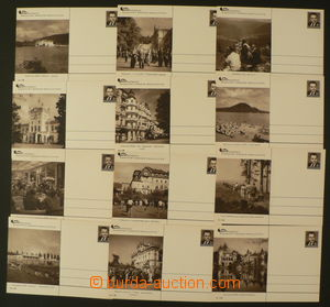 89258 - 1951 CDV103/1-12 Labour Union Recreation, complete set, good