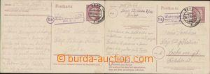 90211 - 1944-45 poštovna WOHNLAGER, kat. Geb. 1342/5 a 1348/5, sesta