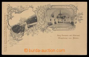 91754 - 1900 PERNŠTEJN (Pernstein) - 2-okénková koláž, čb, interiér