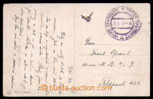 91971 - 1918 1. den ČSR  DR 28.X.18 VELKÉ OPATOVICE, nefrankovaná po
