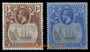 92090 - 1924 Mi.19 a Mi.20, Jiří V., hledané hodnoty 1Sh a 2Sh, kat.
