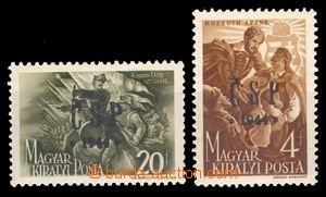 93891 - 1944 Pof.RV191-192  Chustský přetisk, zk. Bl., pěkné, kat. 8