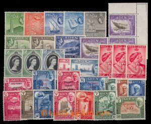 94488 - 1930-1954 sestava 33ks známek, z toho několik dublet