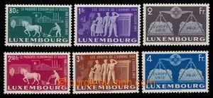 94952 - 1951 Mi.478-483, Evropská jednota, kat. 220€