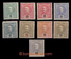 94956 - 1898 Mi.146-153, Král Carlos I. kat. 100€