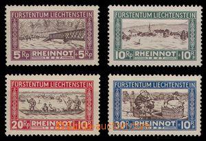 95045 - 1928 Mi.78-81, Pomoc při povodni, luxusní, kat. 260€