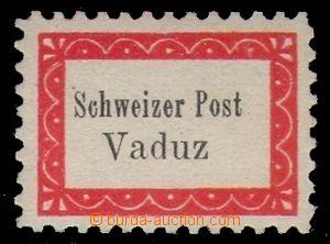 95047 - 1918 Mi.I A, Boten- Post Vaduz - Sevelen, zn. kurýrní pošty,