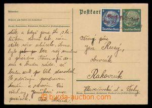 95269 - 1938 německá dopisnice Mi.P226 dofr. zn. 4Pf Hindenburg, pro