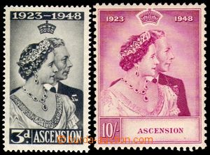 95328 - 1948 Mi.55-56, Stříbrné výročí, pěkné, kat. 60€