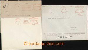 96407 - 1937-38 sestava 3ks dopisů s OVS ze Slovenska, Žilinská tová
