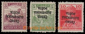 96539 -  RV138 PP (svěží bez stopy), RV140 PP, RV146, Žilinské vydán