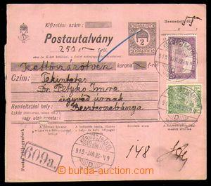 96546 - 1919 sestava 2ks maďarských peněžních poukázek vyfr. maďarsk