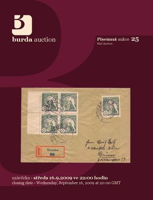 Mail Auction 25 - aukční katalog