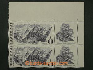 97163 - 1969 Pof.1780, Tatra National Park 60h, corner Pr with coupo