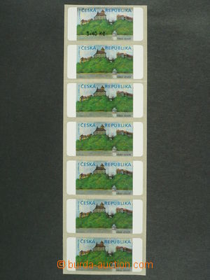 97251 - 2000 Pof.AT1  Veveří, varianta I., 7-páska různých zajímavos