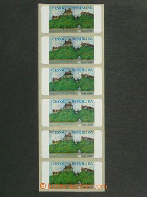 97253 - 2000 Pof.AT1  Veveří, varianta I., papír oz-m, 6-páska různý
