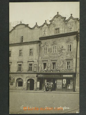 97423 - 1930 PARDUBICE - house with velrybou, photo postacard, Un, 1