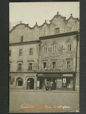 97423 - 1930 PARDUBICE - dům s velrybou, fotopohled, nepoužitá, 1x o