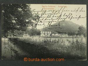 97439 - 1917 TEPLICE (Teplitz-Schönau) - výletní restaurace, prošlá