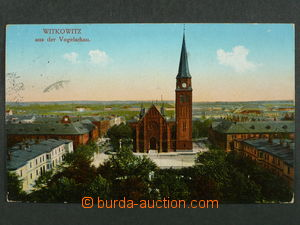 97452 - 1915 VÍTKOVICE (Witkowitz) - church like bird's eye, Us, li