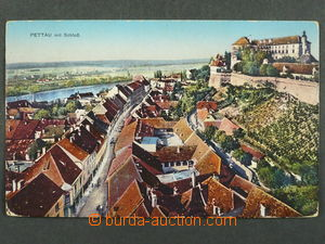 97460 - 1915 PTUJ (Pettau) - view over housetops, sent by FP, bumped