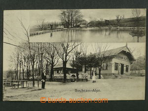 97470 - 1919 GABLITZ - restaurace Hochram-Alpe, prošlá, dobrý sta