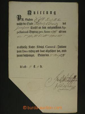97599 - 1781 MORAVSKÉ BUDĚJOVICE  tištěné potvrzení o platbě,